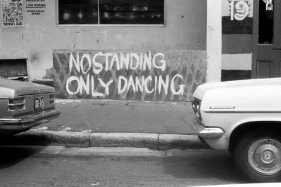 No standing...only Dancing!