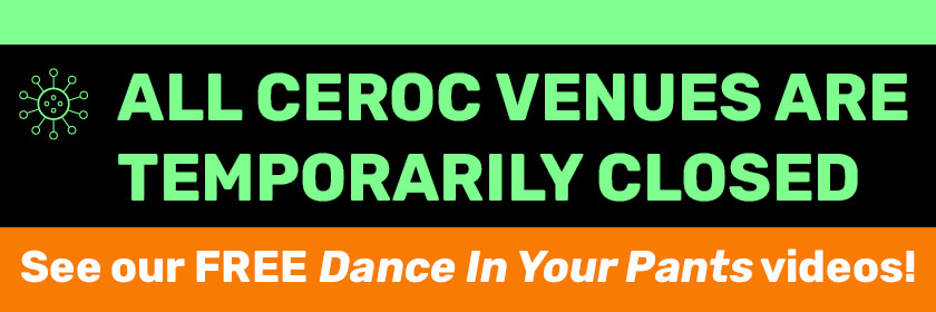All Ceroc venues are temporarily closed