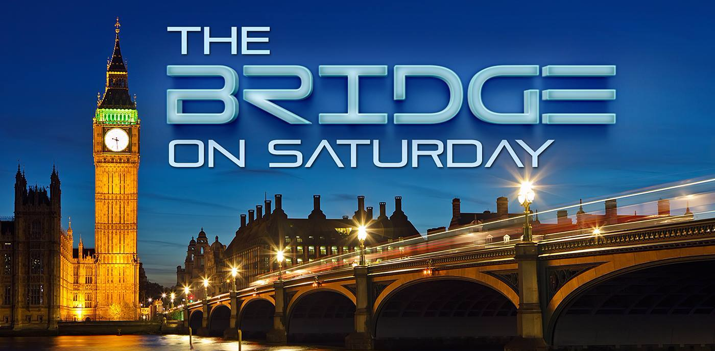 The Bridge on Saturday with DJ Dale St Rose