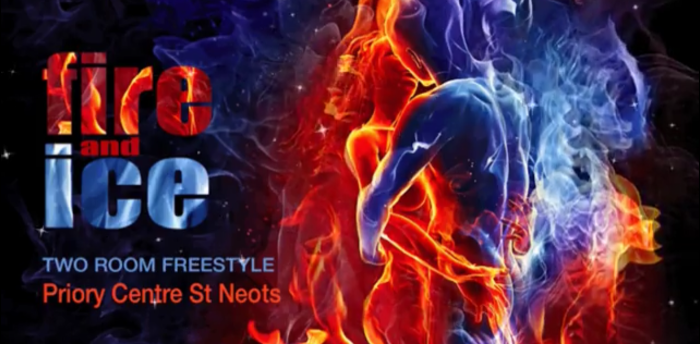 Fire and Ice Two Room Freestyle - on Saturday!