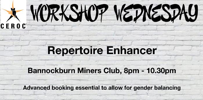 Ceroc Stirling: Repertoire Enhancer Wednesday