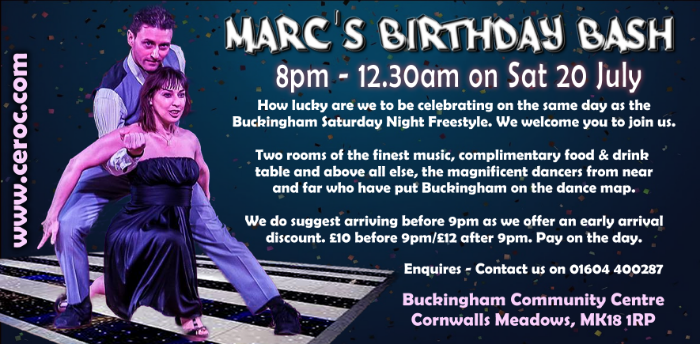 Marc's Birthday Bash