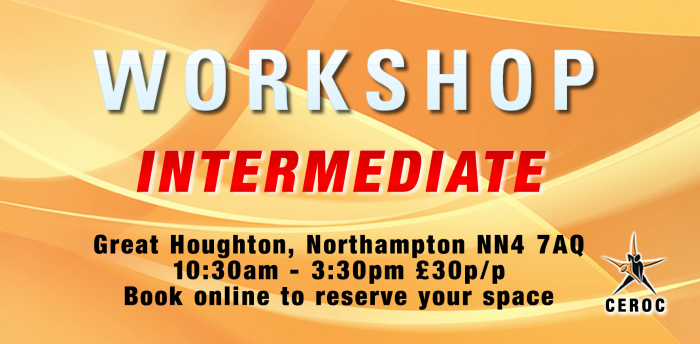 Intermediate Workshop - Northampton was 13 Sep 2020