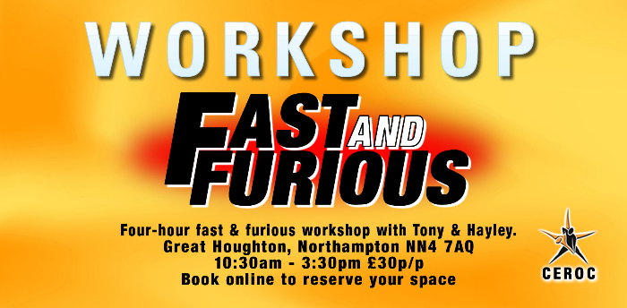 Fast and Furious Workshop - Northampton