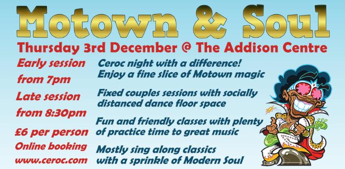 Motown Night - Bedford Couples Ceroc