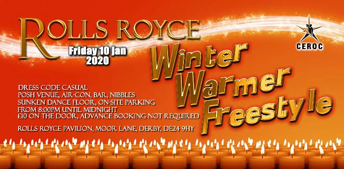 Rolls Royce Derby Winter Warmer Freestyle