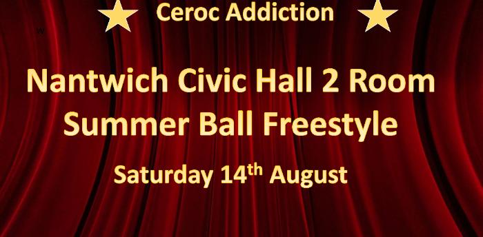 Ceroc Addiction Nantwich 2 Room Summer Ball Freestyle