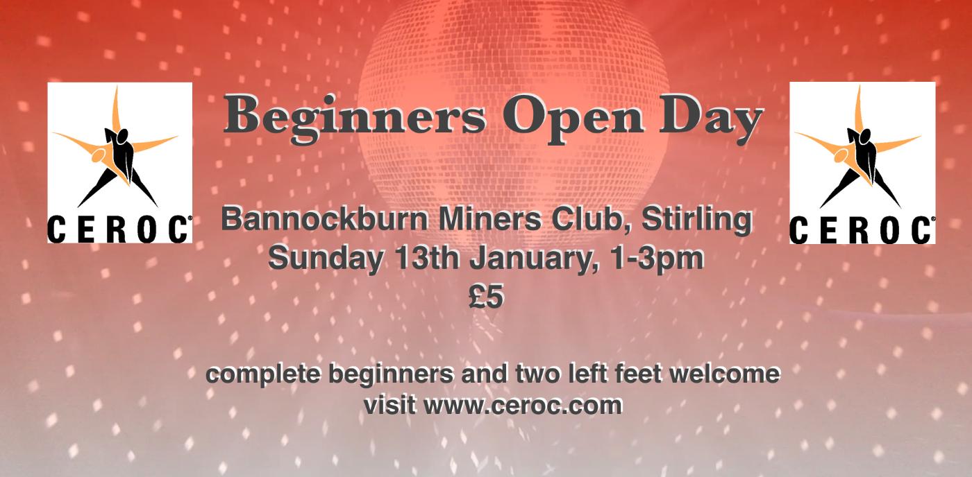 Beginners Open Day