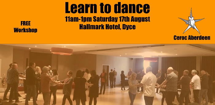 Learn to dance with Ceroc