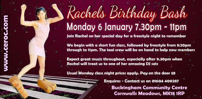 Rachels Birthday Bash