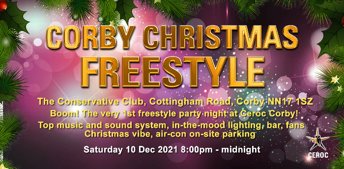 Ceroc Corby Christmas Freestyle