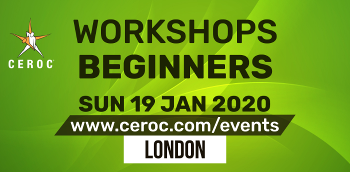 Ceroc Beginners One Learn to Dance Workshop Sun 19 Jan 2020