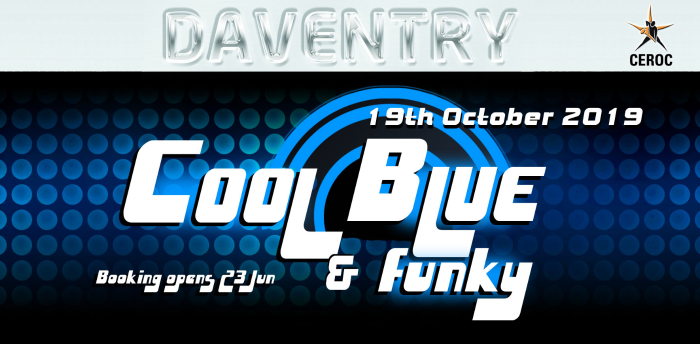 DAVENTRY EVENT - Cool Blue & Funky