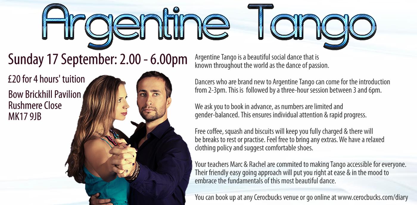 Argentine Tango Workshop £20