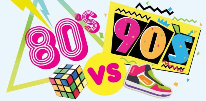 80s vs 90s Freestyle