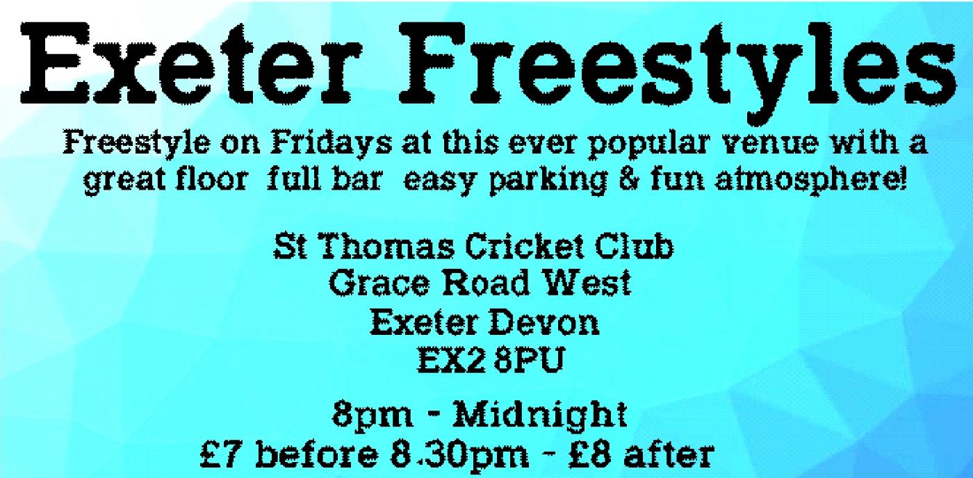Exeter St Thomas Freestyle