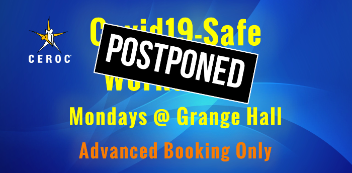 POSTPONED Ceroc Grange Hall Covid-Safe Lessons