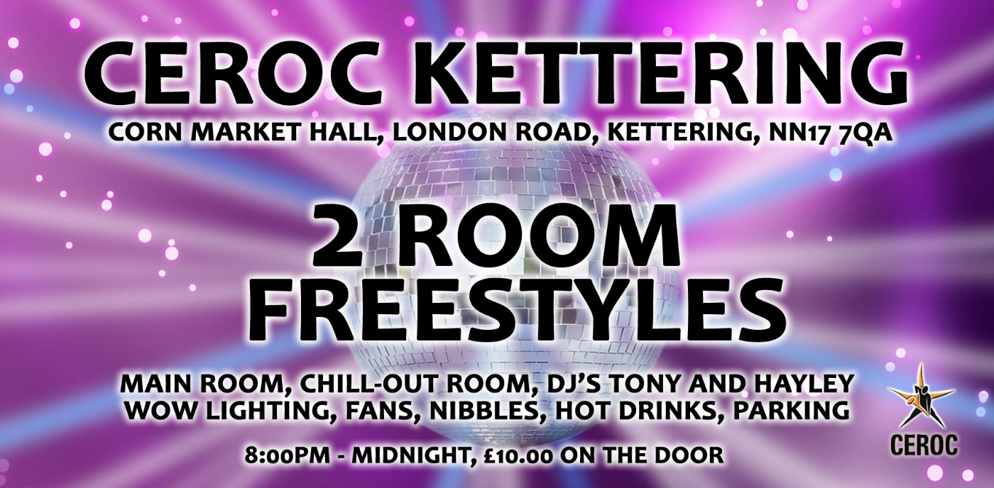 Kettering 2 Room Freestyle Party Night