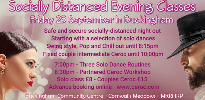 Buckingham Friday Solo Dance Workshop