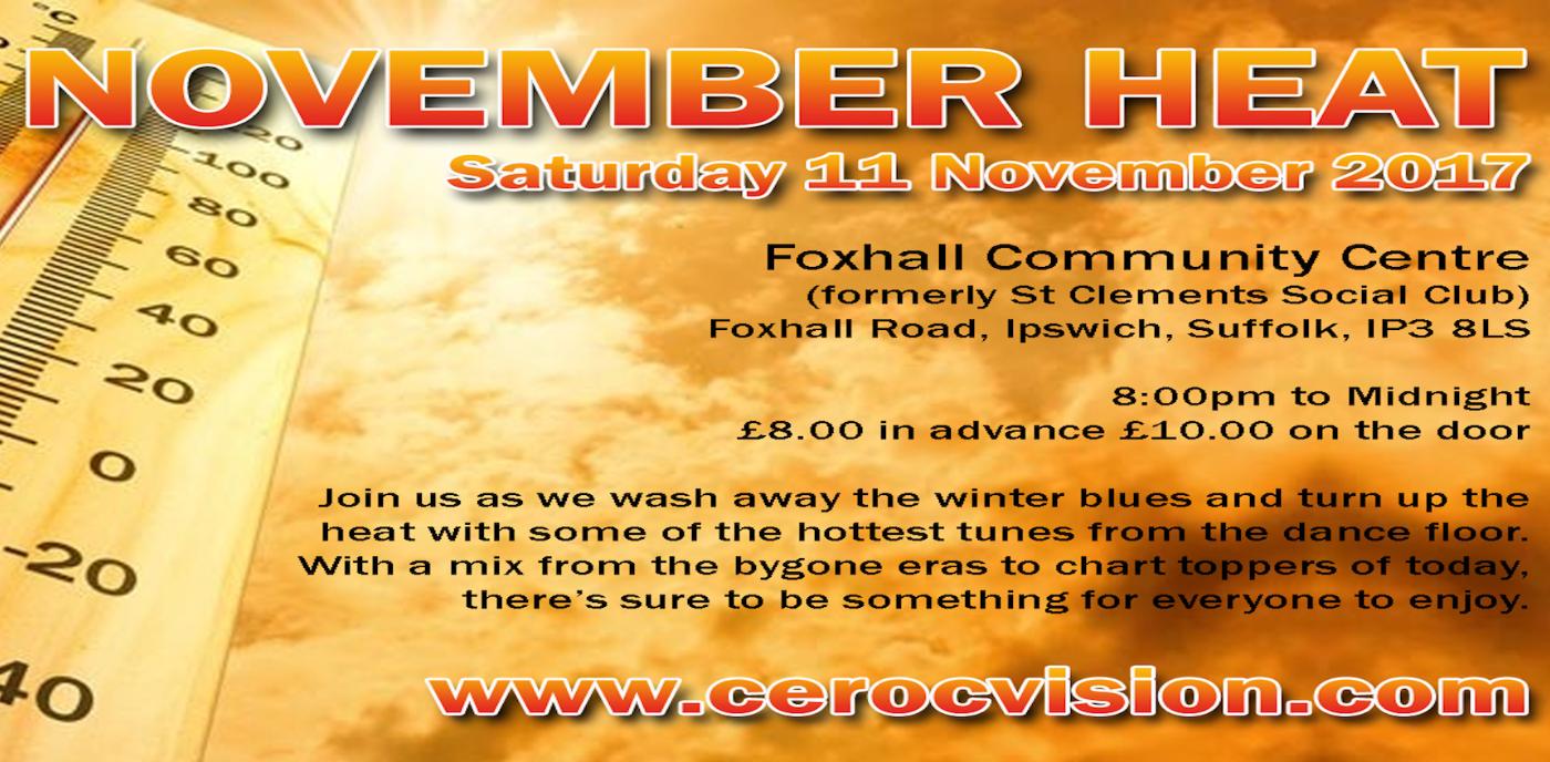 November Heat - Ipswich