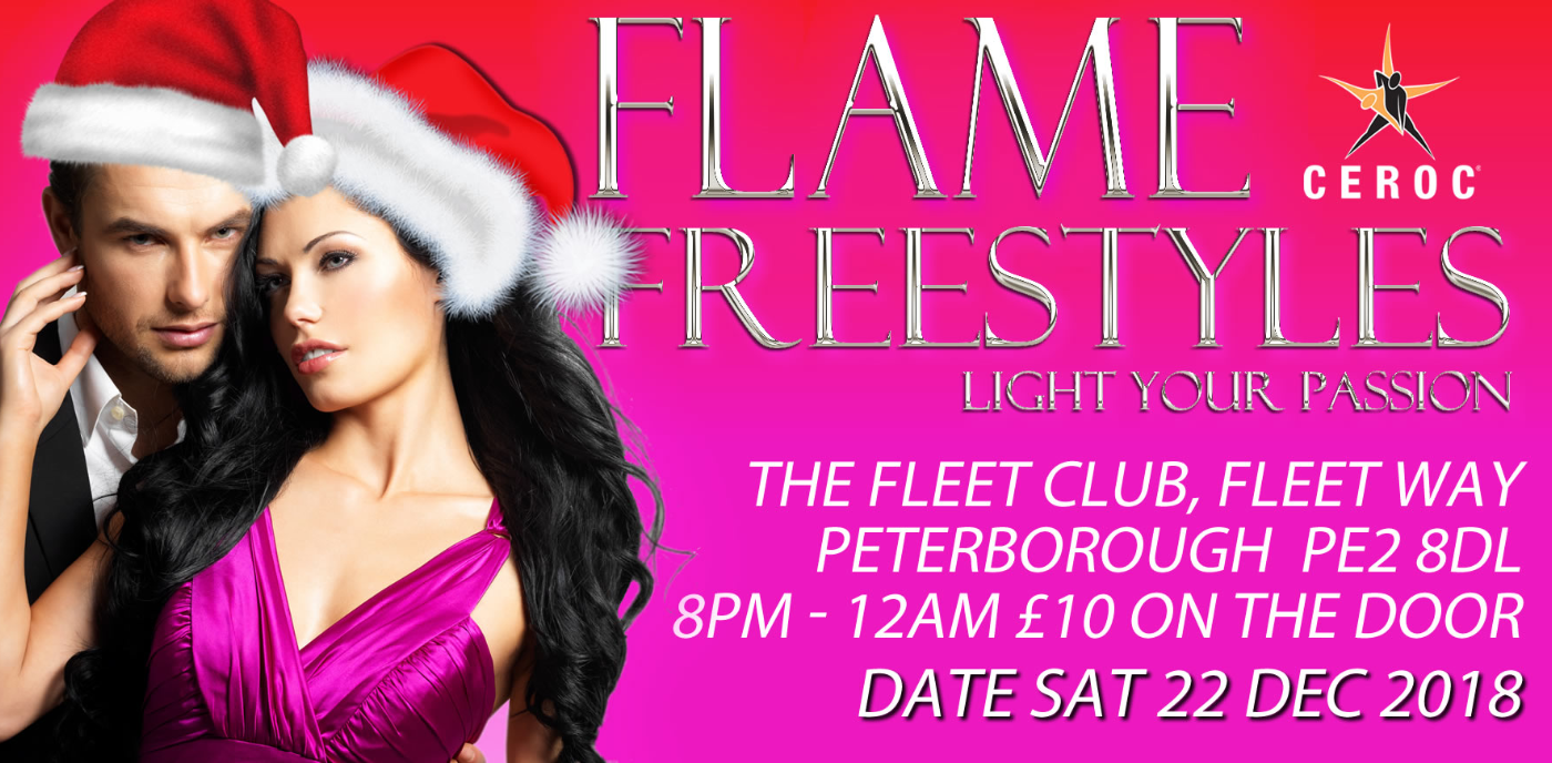 Christmas FLAME Freestyle Peterborough