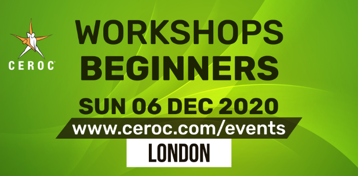 Ceroc Beginners Two Learn to Dance Workshop Sun 06 Dec 2020