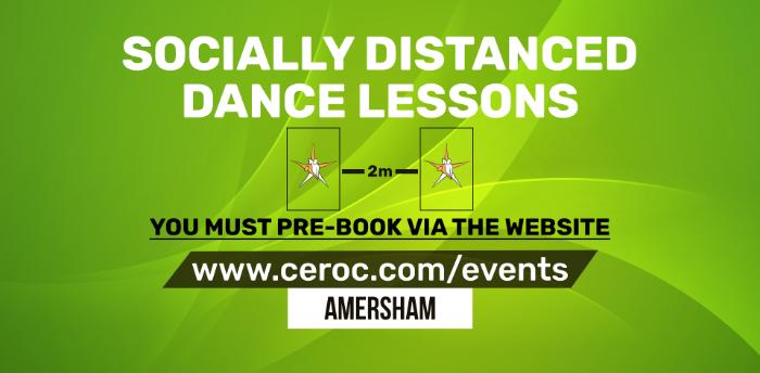 Ceroc Amersham SUNDAY 01 NOV 2020 - Back to the Dancefloor Workshop