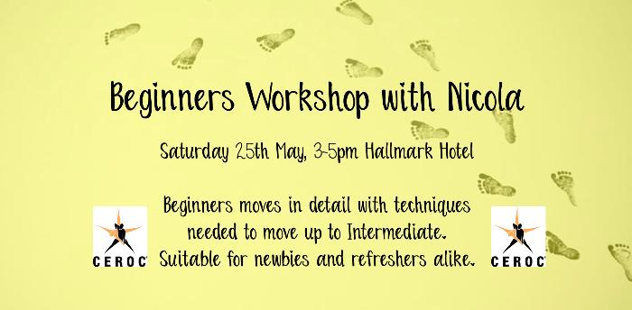 Ceroc Aberdeen: Beginners Workshop with Nicola
