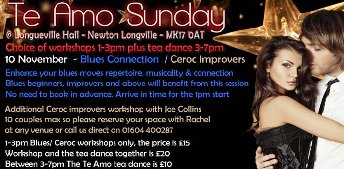 Blues Workshop at Te Amo - £15