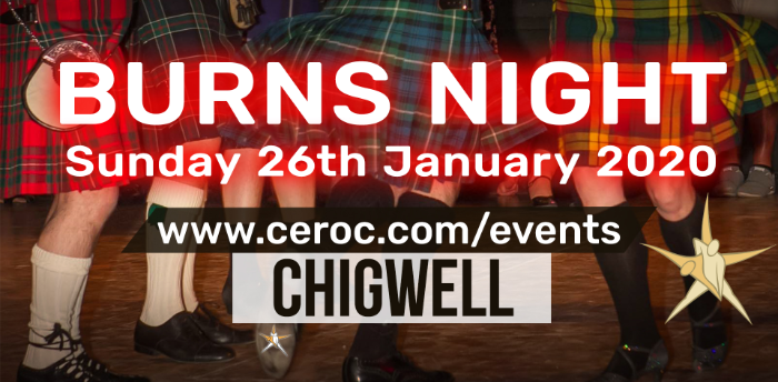 Ceroc Chigwell BURNS NIGHT Sunday Freestyle