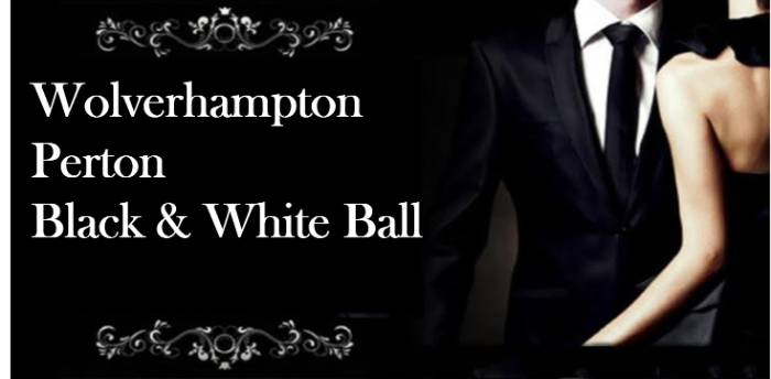 Wolverhampton Perton Civic Hall 2-Room Black and White Ball