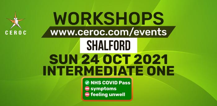 Intermediate Workshop at Ceroc Shalford Sun 24 Oct 2021