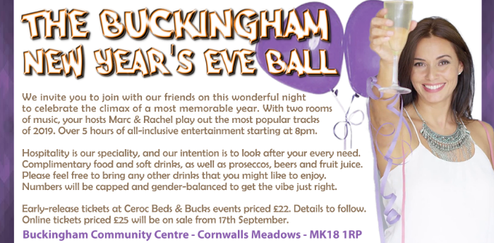 Buckingham New Years Eve Ball
