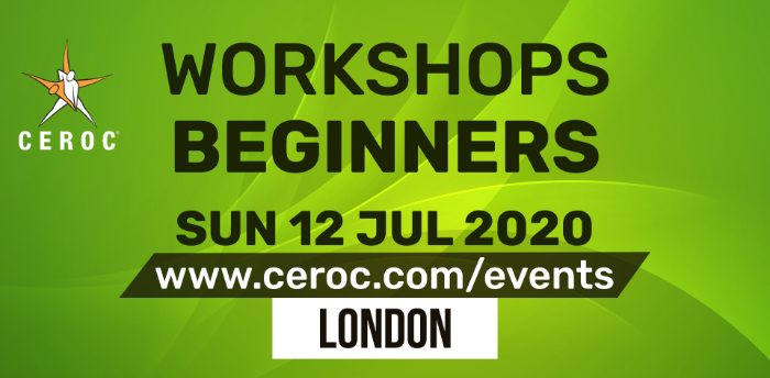 Ceroc Beginners One Learn to Dance Workshop Sun 12 Jul 2020