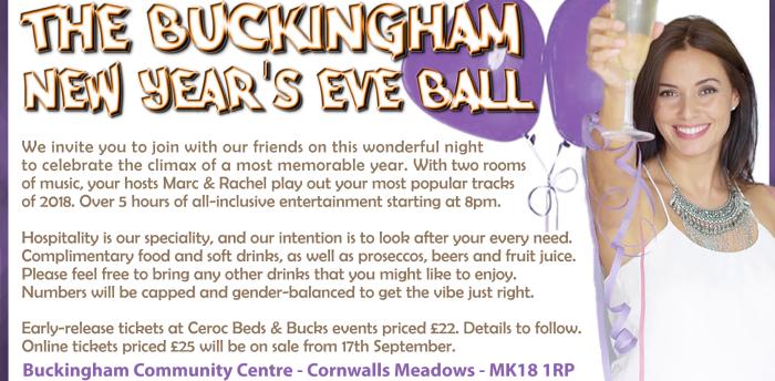 Buckingham New Years Eve Ball