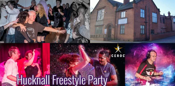 Ceroc Heaven Hucknall Freestyle Party