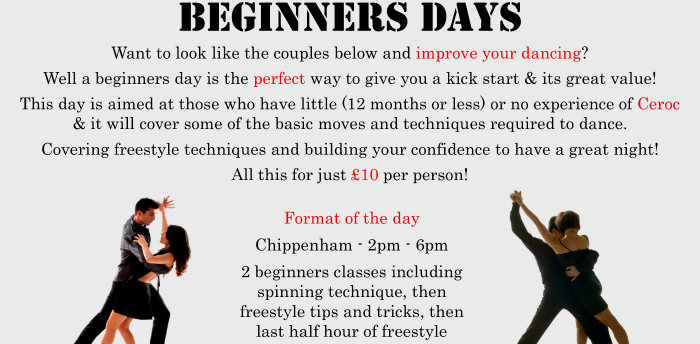 Beginners day @ Chippenham was 11 Oct 2020