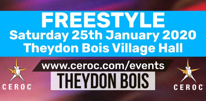 Theydon Bois Ceroc Freestyle Sat 25 Jan 2020