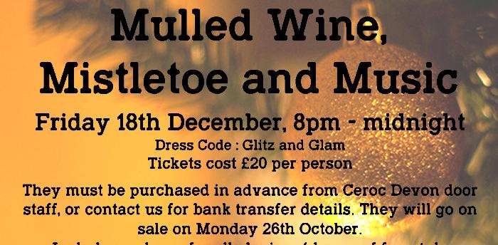 Mulled wine, Mistletoe & Music