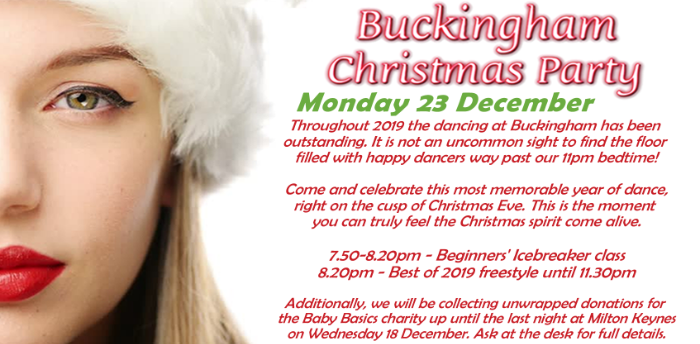 Buckingham Christmas Party