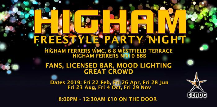 Higham Freestyle Party Night