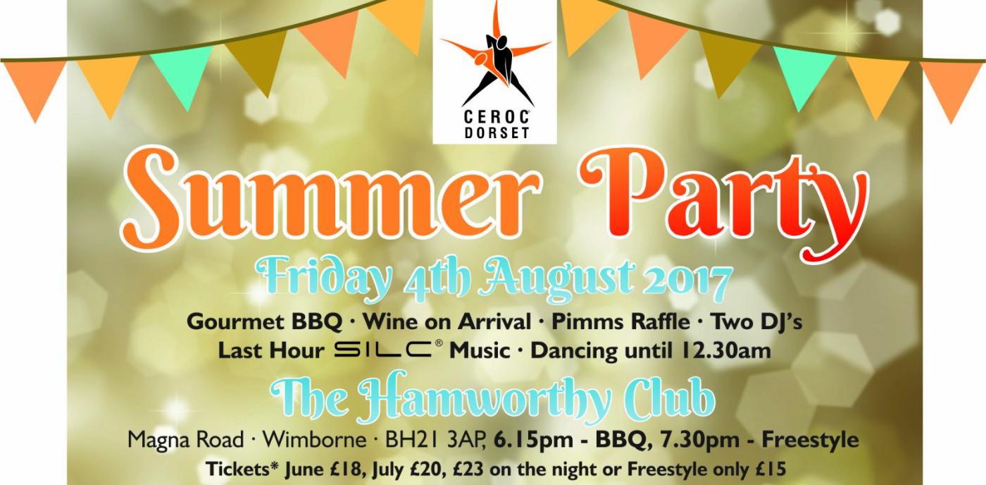 Ceroc Dorset Summer Party