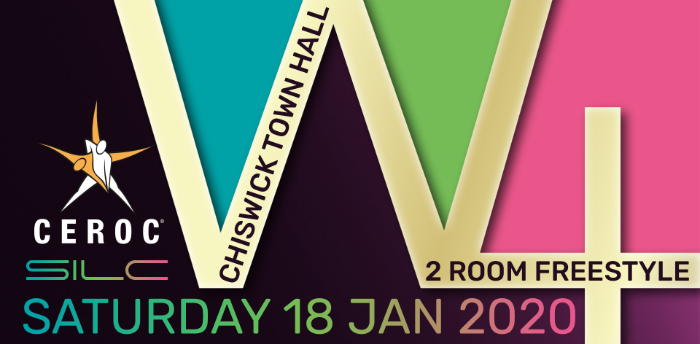 Ceroc Chiswick W4 2 Room Freestyle Sat 18 Jan 2020
