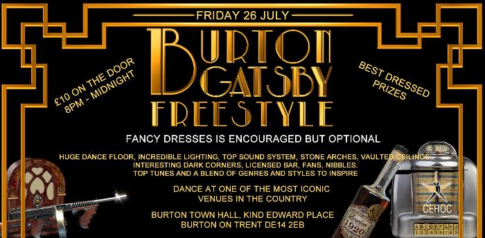 Burton Town Hall Gatsby Freestyle