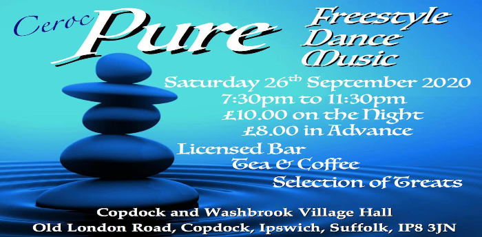 EVENT POSTPONED - Ceroc Suffolk PURE Freestyle
