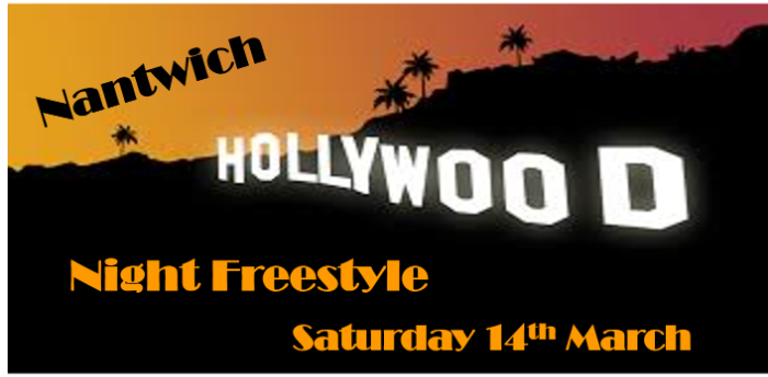 Ceroc Addiction Nantwich 2 Room Hollywood Night Freestyle