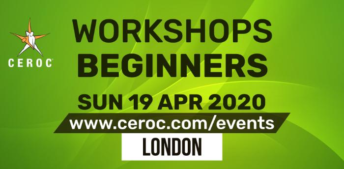 Ceroc Beginners Two Learn to Dance Workshop Sun 19 Apr 2020