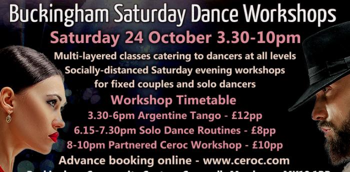 Buckingham Saturday Evening Ceroc Workshop