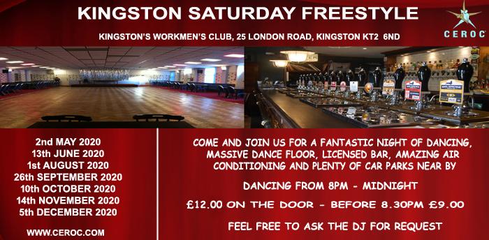 POSTPONED Kingston Saturday Freestyle