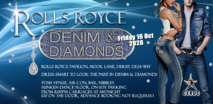 Rolls Royce Derby Denim and Diamonds Freestyle
